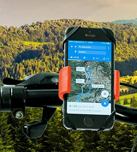 Soporte movil moto Huawei Mate 20 Pro doble sujecion soporte ...