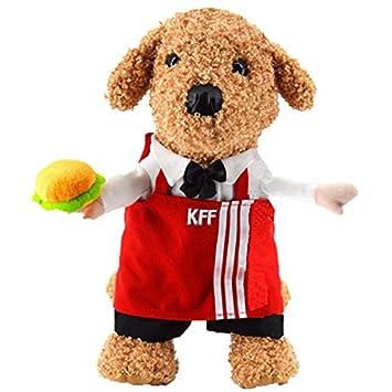 Buy Hamburger 5 Funny Dog Clothes Costume Cool Pet Dog Costume