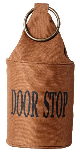 Esschert Design USA LH118 Fabric Doorstop with Ring