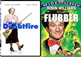 Robin Williams Fun Family Pack - Disney Flubber & Mrs. Doubtfire Double Feature Movie set
