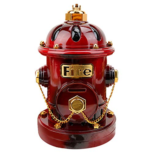 Sacow Creative Music Box, Fire Hydrant Music Box Piggy Bank Kids Christmas Birthday Home Table Decor - Bank Fire Piggy Hydrant