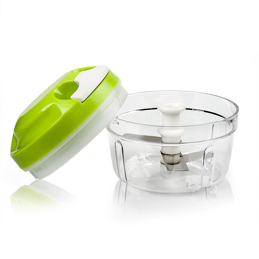 Picadora de Alimentos Licuadora manual tirando Capacidad de ML Cortador de Verduras