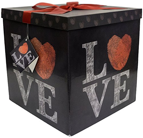 Endless Art US Amrita Love EZ Gift Box. Easy to Assemble and No Glue Required. - Box Gift Large
