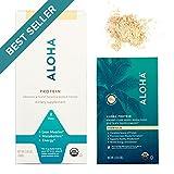 Aloha 1001002260 Plant-Based Protein Powder, Vanilla, 518g Packet (Packaging May Vary)