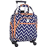 Jenni Chan Aria Madison 15' Spinner Underseat Tote (Navy)