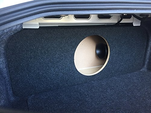 2015+ Ford Mustang - Ported / Vented Sub Enclosure Subwoofer Box - 1 12