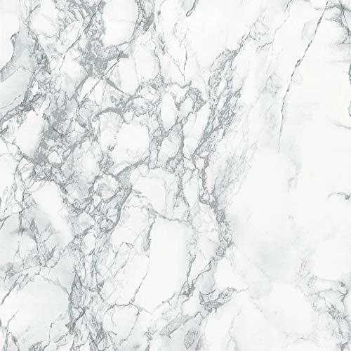d-c-fix 346-8306-2PK Decorative Self-Adhesive Film, Grey Marble, 26'' x 78'' Roll, 2-Pack by d-c-fix