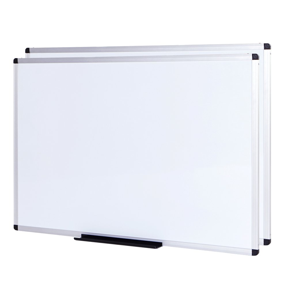 VIZ-PRO Magnetic Whiteboard / Dry Erase Board, 48 X 36 Inches, 2 Pack by VIZ-PRO
