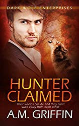Hunter Claimed: (A Wereshifter Romance Novel) (Dark Wolf Enterprises Book 3)
