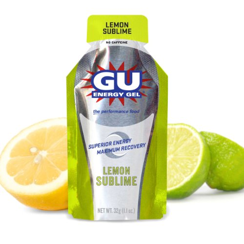 Gu Energy Gel - 8 pack - Lemon Sublime