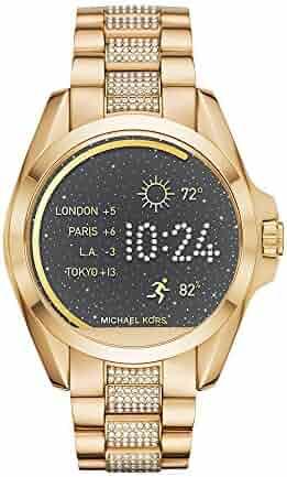 Michael Kors Access Touchscreen Gold Bradshaw Smartwatch MKT5002