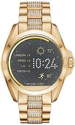 Michael Kors Access, Women's Smartwatch, Bradshaw Gold-Tone Stainless Steel, MKT5002