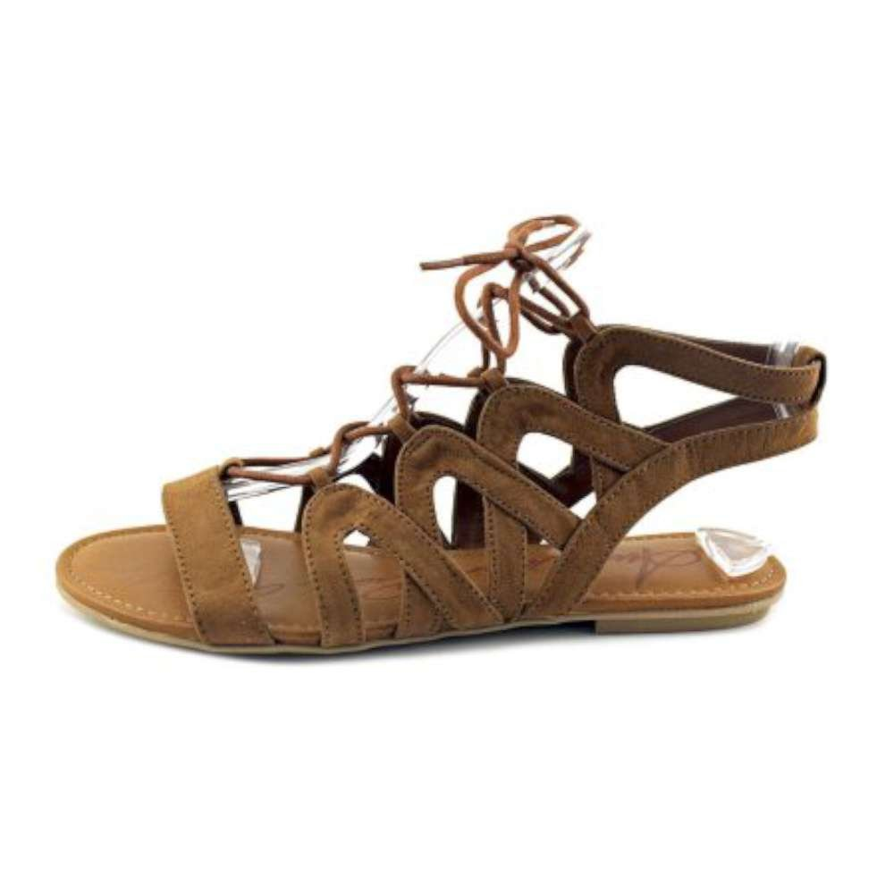 American Rag Womens Marlie Open Toe Casual Gladiator Sandals, Maple, Size 8.0