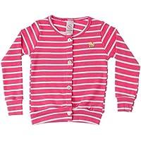 Casaco Cardigan Infantil Basic Pink - Costão Mini