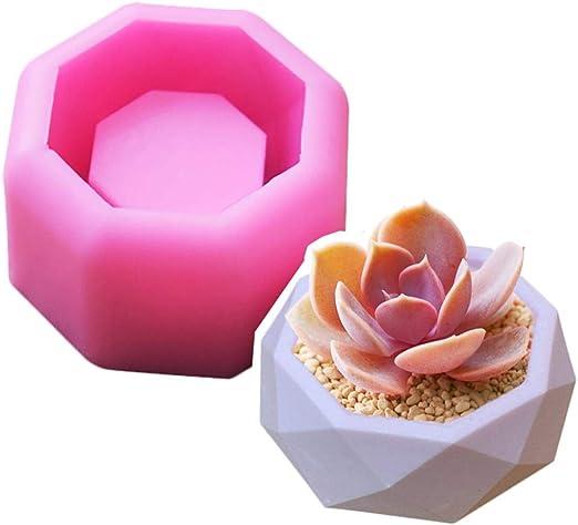 ciment plantes succulentes b/éton Moule en silicone pour pot de fleurs