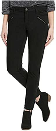 Kenneth Cole Ladies' Moto Skinny Jean, Black