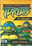 Teenage Mutant Ninja Turtles: 32 Valentines with Seals & Activity Card