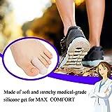 20 Pieces Gel Toe Cap, Silicone Toe Protector, Toe