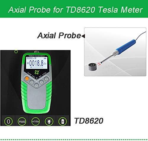 TD8620 Tesla Meter Axial Probe