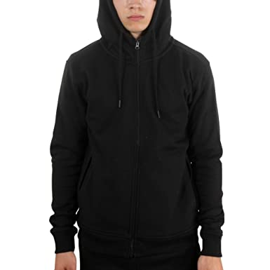 30b52b2e26917b 8276H-05 MEN BASIC FLEECE HOODY JORDAN CRAIG BLACK at Amazon Men s Clothing  store