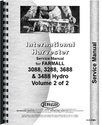 Download International Harvester 3488 Tractor Service Manual PDF