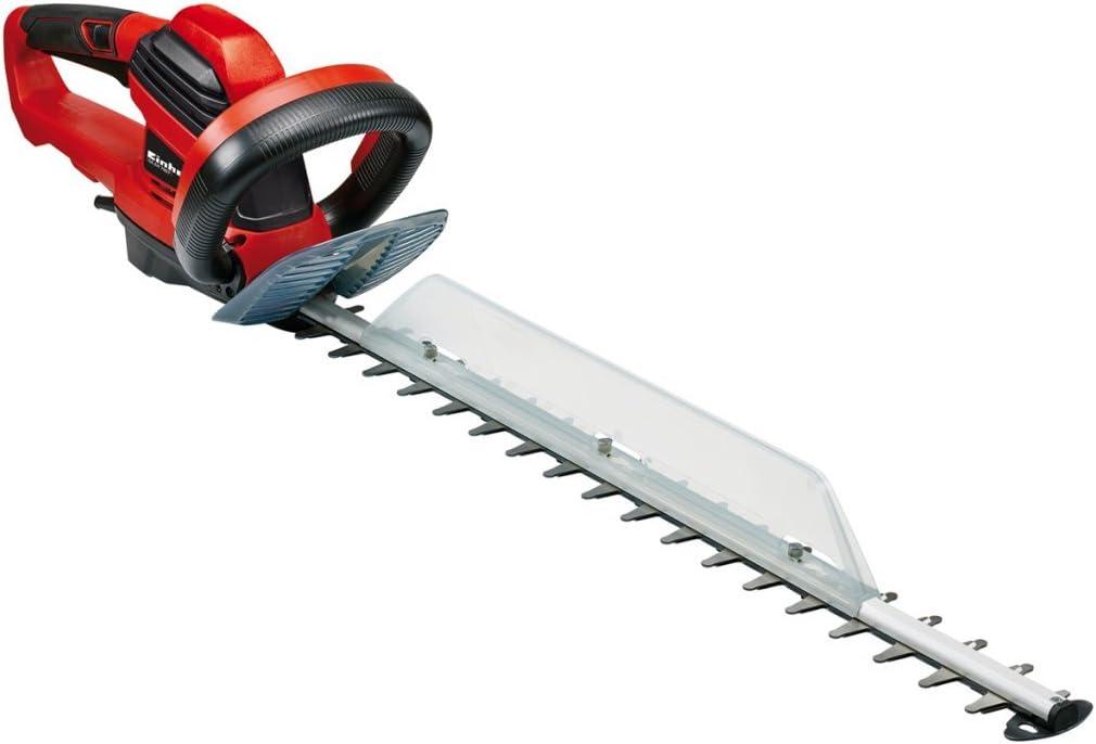 Einhell Expert GE-EH 7067- Recortasetos eléctrico 700W (longitud de corte: 670mm, longitud de la hoja: 710mm, espacio entre dientes: 30mm, Corte por minuto: 3000 min-1) (ref. 3403340)