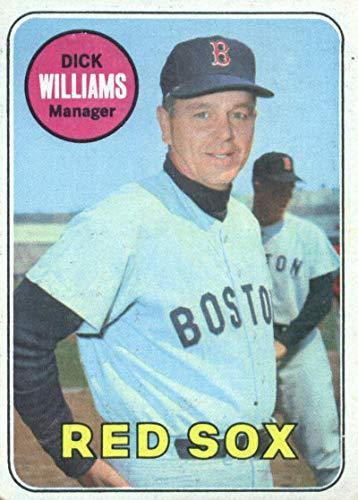1969 Topps #349 Dick Williams Boston Red Sox Baseball Card