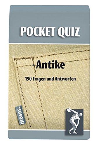 Pocket Quiz Antike (Pocket Quiz / Ab 12 Jahre /Erwachsene)