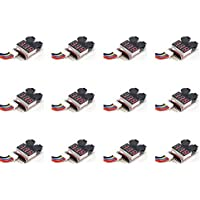 12 x Quantity of Walkera Runner 250 Racer Li-Po Low Voltage Cell Checker (2S~8S) Alarm Twin Alarms