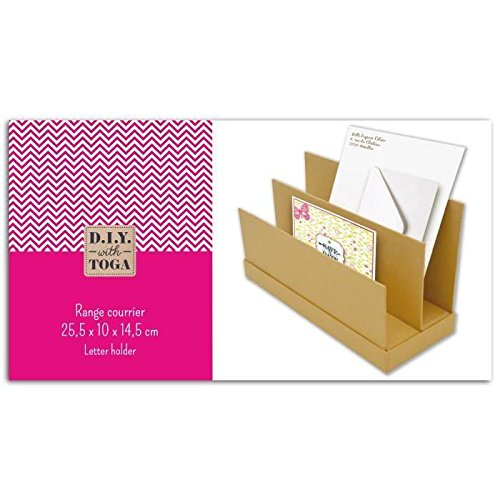 26 x 14.5 x 3.5 cm Autre Kraft D.I.Y with Toga Range-Courrier /à D/écorer