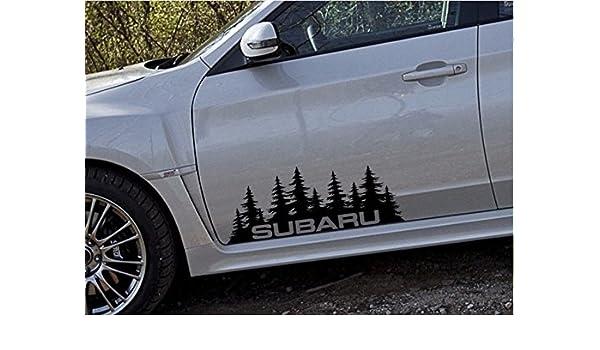 JDM Subaru Sticker Vinyl Decal Tree PNW northwest wrx legacy gt outback forester