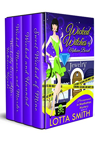 Wicked Witches of Midtown: Paranormal in Manhattan Mystery Boxset: Books 5-8 by [Smith, Lotta]