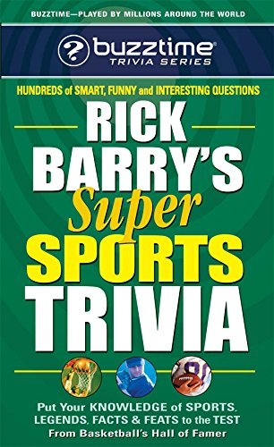Rick Barry's Super Sports Trivia (Buzztime Trivia Series) [Rick Barry] (De Bolsillo)