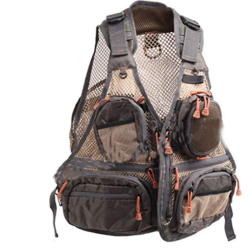 Aventik Super Light Fishing Mesh Vest No Mad Design in Wading Deep Water Fly Fishing Vest Keep Cool