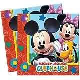 Perona - Pack 20 servilletas 33 x 33 cm, Mickey Mouse ( 50862)