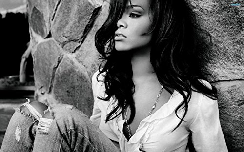 036 Rihanna 22x14 inch Silk Poster Aka Wallpaper Wall Decor By -