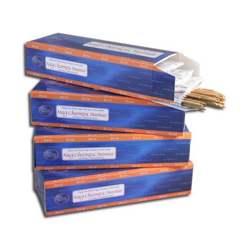 Nag Champa Gold Incense Sticks- Bulk Kilo Pack- 1000 Sticks by Nag Champa Spa