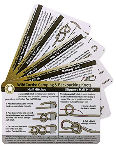 ReferenceReady Camping and Backpacking Knot Tying Cards