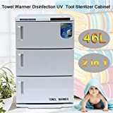 Belovedkai Combination 2 in 1 Hot Towel Warmer Cabinet and UV Sterilizer (48L)