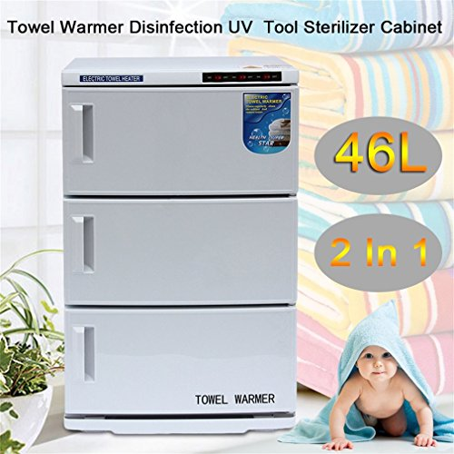 2 In 1 Disinfection Cabinet, Spa Sterilizer Machine For Beauty Salon Spa Massage (46L) by Water-chestnut (Image #9)