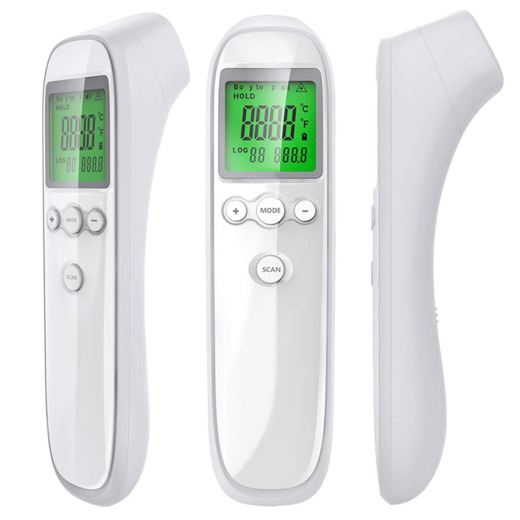 2021 Thermometer Digitales Temperatur Infrarot Thermometer Berührungsloses Temperaturmessgerät Pyrometer Ir 50 600c Laserpunkt Werkzeug Aa Gewerbe Industrie Wissenschaft