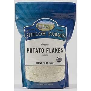 Organic Instant Potato Flakes - 6 x 12 Oz