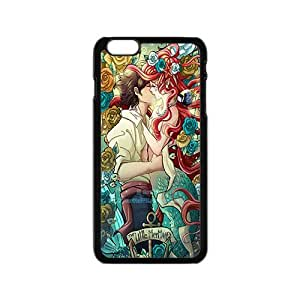 Happy The little mermaid Case Cover For iPhone 6 Case