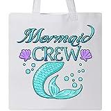 Inktastic - Mermaid Crew Tote Bag White 2ef82