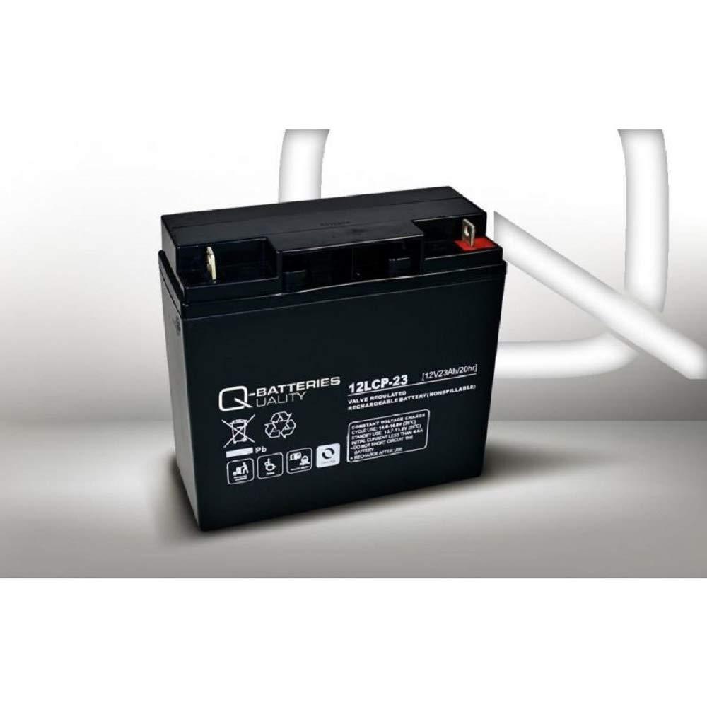 Batería de 23 Ah, 12 V, AGM, batería de Plomo, para cortacésped, Tractor cortacésped, cortacésped, Barco, Scooter, 17 Ah, 18 Ah, 19 Ah, 20 Ah, 22 Ah, ...