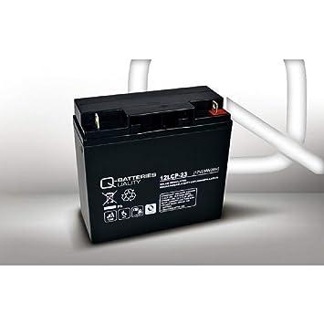 Batería de 23 Ah, 12 V, AGM, batería de Plomo, para cortacésped ...