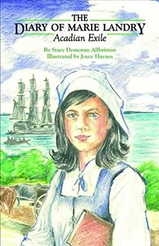 book cover of The Diary of Marie Landry, Acadian Exile