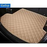Gallop Durable Waterproof Custom Fit Cargo Trunk Mat Floor Mats for Honda Civic 2012-2015, Beige