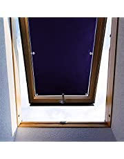 ZHhan Blackout Roof Skylight Blind Window Curtain for Velux F06 206 Roof Windows with Sucker UV Protection Without Drill and Easy InstallationSucker