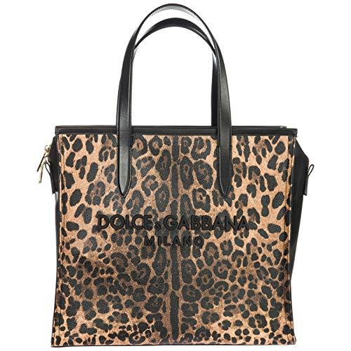 Dolce&Gabbana women Market Bag shoulder bag stampa leo